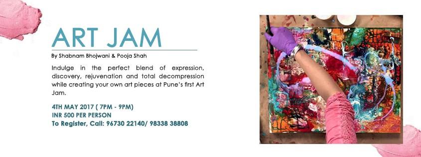 Art Jam Banner